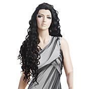 Español Curly Nuevo estilo de la moda las pelucas el 100% del pelo humano de Remy del indio de las pelucas