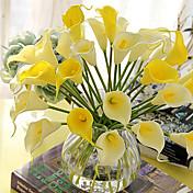 Hedvábí Kala Lilie Umělé květiny
