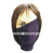 Maska Inspirovaný Naruto Hatake Kakashi Anime Cosplay Doplňky Maska Czarny Polyester Pánský