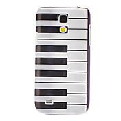 サムスンギャラクシーS4ミニI9190のためのピアノキーパターンハードケース