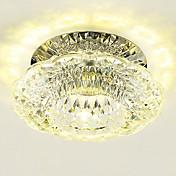 3W Moderno / Contemporáneo Cristal / LED / Mini Estilo Montage de FlujoSala de estar / Dormitorio / Comedor / Cocina / Baño / Habitación