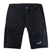 Hombre Shorts para senderismo Secado rápido Transpirable Shorts/Malla corta para Camping y senderismo Pesca Deportes recreativos Playa M