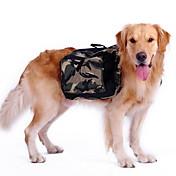 犬用品 バックパック 犬用ウェア スポーツ カモフラージュ グリーン