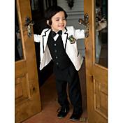 サージ リングベアラースーツ - 5 小品 含まれています ジャケット パンツ ベスト シャツ 蝶ネクタイ