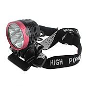 自転車用ヘッドライト LED Cree XM-L T6 サイクリング 防水 / 充電式 18650 2800 ルーメン バッテリー キャンプ/ハイキング/ケイビング / サイクリング / 狩猟 / 釣り / 登山 / バイク用-Zweihnder