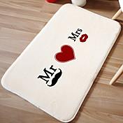"""alfombra de baño mr romance. mrs. W16 de espuma de memoria """"x l24"""" - color multi disponible"""