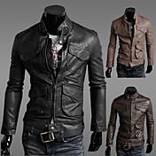 chaqueta de la motocicleta de la moda de los hombres manmax