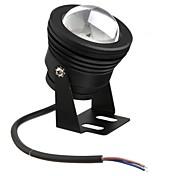 黒10ワット防水屋外RGB光は、水中光+ 24keyリモコンを主導(ac85-265v)