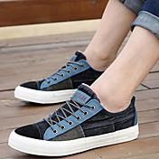 Zapatos de Hombre - Sneakers a la Moda - Casual - Tela - Negro / Azul / Rosa / Azul Marino