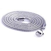 Lančići Titanium Steel Jewelry Zmija Jedinstven dizajn Moda Pink Jewelry Dnevno Kauzalni Božićni pokloni 1pc