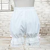 パンツ クラシック/伝統的なロリータ ロリータ コスプレ ロリータドレス ゼブラプリント ロリータ ロリータ パンツ のために コットン