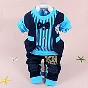 Sistemas de la ropa ( Algodón ) - Micro-elástica - Mediano - Manga Larga - para BOY
