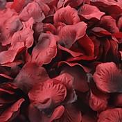 tamno crvena i crna latice ruže Ukrašavanje stola (set od 100 latica)