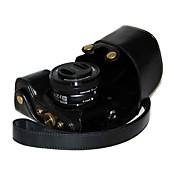 dengpin® kůže kamera pouzdro olej nabíjení styl pro Sony Alpha A6000 s 16-50mm nebo 2,8 / 16 objektivem kůže