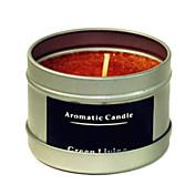 12時間持続リンゴシナモンの香りの天然カルナバキャンドル