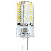 3w g4 ledede majslamper / ledede bi-pin lys t 64 smd 3014 300 lm varm hvid ac 100-240 v