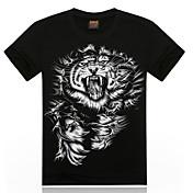 k&de los hombres r 22d impresa camiseta informal