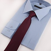 Hombre Corbata Fiesta / Trabajo / Casual-Poliéster Estampado Todas las Temporadas