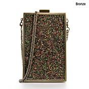 Bolso de Hombro Metal - Oro / Multicolor - Mujer