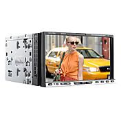 """ブルートゥース、iPodの、SWC、ATV(7258)でのWindows CE 6.0 7 """"2-DIN電動タッチスクリーン車のDVDプレーヤー"""