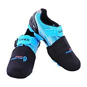 Protectores de Zapatos/Sobrecalzado Bicicleta Mantiene abrigado Resistente al Viento Materiales Ligeros Hombres Poliéster