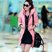 1xuan®女性の2014新しいスタイルのファッションミドルロングジャケットやトレンチコートやダウン摩耗
