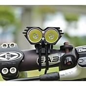 LS070 Linternas de Cabeza Luces para bicicleta 5000/2500 Lumens Modo Cree XM-L U2 Resistente a Golpes Recargable Impermeable para