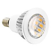 4W E14 Focos LED 16 SMD 5730 280 lm Blanco Cálido AC 110-130 V