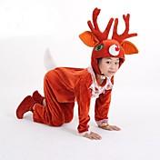 Disfraces de Cosplay Ropa de Fiesta Animal Disfraces de Santa Festival/Celebración Disfraces de Halloween Un ColorLeotardo/Pijama Mono