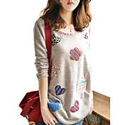 アーデン女性の震えルーズフィットベースシャツ