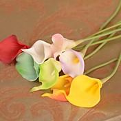 Rama Seda Plástico Lirios Flor de Mesa Flores Artificiales