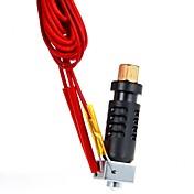 ケーブル1.75ミリメートルフィラメント/ 0.3ミリメートルノズルを3DプリンタPEEK短距離J-頭MKIV押出機hotendをgeeetech