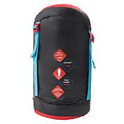 寝袋 マミー型 シングル 幅150 x 長さ200cm -8°C~-3°C ダックダウンX80 ハイキング 釣り ビーチ キャンピング 旅行 屋外 屋内 保温 防風 通気性 ビデオ圧縮 HIGHROCK