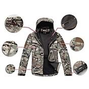Tops/Chaqueta (Camuflaje) - Impermeable/Transpirable/Resistente a los UV/A prueba de polvo/Capilaridad - de Camping y senderismo/Caza-