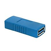 USB 3.0タイプメスアダプターカプラチェンジャーコネクタにメス