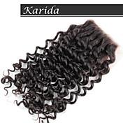 karida髪安いレースの閉鎖、学年6aの高品質人毛レースの閉鎖