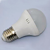 3w e27 de entrada AC220V de base llevó globo bulbo, blanco cálido y blanco frío disponibles