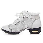 Zapatos de baile (Negro/Blanco) - Dance Sneakers - No Personalizable - Tacón bajo