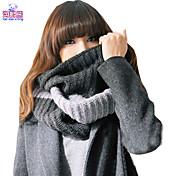 Bufanda Mujer Casual-Mezcla de Algodón