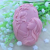 smukke faery sæbe skimmel fondant kage chokolade silikone støber, dekoration værktøjer Bageforme