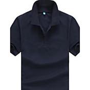 MEN Tシャツ ( コットン ) カジュアル スタンド - 半袖