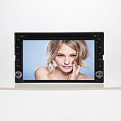 6.2「電動式タッチスクリーン2喧騒車のDVDプレイヤー-GPS-BT-TV-ブルートゥース・FM-6205h