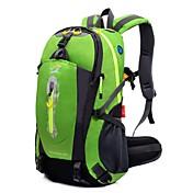 40 L ハイキング用デイパック サイクリングバックパック バックパッキング用バックパック 登山 レジャースポーツ 旅行 キャンピング&ハイキング 防水 多機能の ナイロン Outdoor LOCAL LION