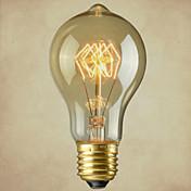 E26 / 27エジソンタングステンフィラメント電球のOM - 40ワットの古代の方法を復元P001