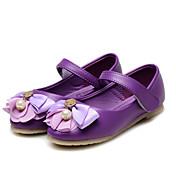 Chica Bailarinas Confort Zapatos para niña florista Semicuero Primavera Otoño Boda Casual Vestido Fiesta y NocheConfort Zapatos para niña