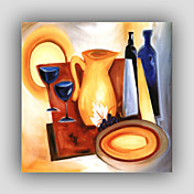 手描き抽象/有名/静物/ファンタジー/レジャースタイル/モダン/リアリズム油絵、キャンバス1つのパネル