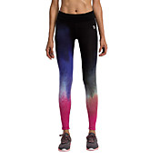 Vansydical® Mujer Camiseta interior Pantalones ajustados de running Transpirable Leggings Pantalones/Sobrepantalón Medias/Mallas Largas