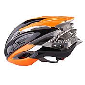 スポーツ 男性用 バイク ヘルメット 41 通気孔 サイクリング サイクリング マウンテンサイクリング レクリエーションサイクリング L:58-61CM PC EPS ポリ塩化ビニル グリーン ライトグリーン オレンジ その他