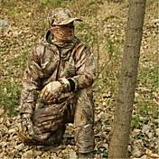男性用 長袖 スポーツ 冬物ジャケット スカーフ バイザー 洋服セット 防水 抗虫 高通気性 狩猟 釣り