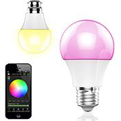 4.5w smart app inalámbrico de control inalámbrico llevado rgb bulbo / luz 1pcs